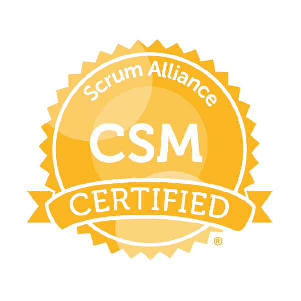 Advanced Certified ScrumMaster seal